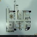 [頭份] 美居建設「美居仰森」2013-04-30 009 A2戶平面參考圖
