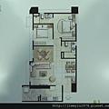 [頭份] 美居建設「美居仰森」2013-04-30 010 B1戶平面參考圖