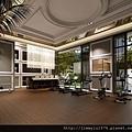 [竹北] 聚合發建設「香禔」(大樓) 2013-06-13 013 健身房透視參考圖