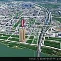 [竹北] 聚合發建設「香禔」(大樓) 2013-06-13 015 空拍合成參考圖