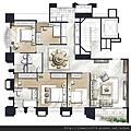 [竹北] 聚合發建設「香禔」(大樓) 2013-06-13 019 A、B標準層家配參考圖