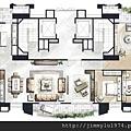 [竹北] 聚合發建設「香禔」(大樓) 2013-06-13 022 CD合併戶家配參考圖