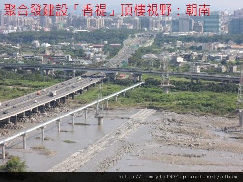 [竹北水岸] 聚合發建設「香禔」(大樓)頂樓景觀 2013-07-29 005