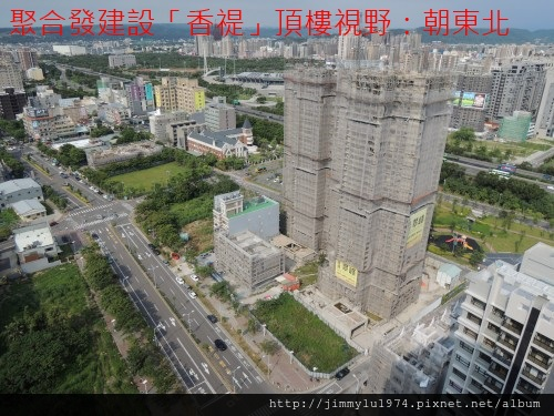 [竹北水岸] 聚合發建設「香禔」(大樓)頂樓景觀 2013-07-29 010
