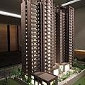 [竹北高鐵] 名銓建設「坤山君峰」(大樓)外觀模型 2013-08-01 003.jpg