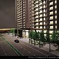 [竹北高鐵] 名銓建設「坤山君峰」(大樓)外觀模型 2013-08-01 007.jpg