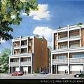 [新竹南寮] 晟家建設「新旅居」(透天) 2013-08-23 001 外觀透視參考圖