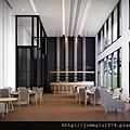 [新竹延平] 金連城建設「市中心」(大樓) 2013-08-30 005 交誼廳透視考圖