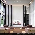 [新竹延平] 金連城建設「市中心」(大樓) 2013-08-30 006 視聽中心透視參考圖