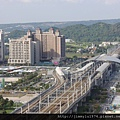 [竹北高鐵] 高鐵新竹站周邊景觀(從「明日軸」俯瞰) 2013-10-18 004