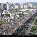 [竹北高鐵] 高鐵新竹站周邊景觀(從「明日軸」俯瞰) 2013-10-18 005
