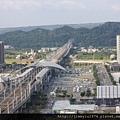 [竹北高鐵] 高鐵新竹站周邊景觀(從「明日軸」俯瞰) 2013-10-18 008