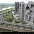 [竹北高鐵] 高鐵新竹站周邊景觀(從「明日軸」俯瞰) 2013-10-18 013