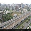 [竹北高鐵] 高鐵新竹站周邊景觀(從「明日軸」俯瞰) 2013-10-18 014