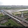 [竹北高鐵] 高鐵新竹站周邊景觀(從「明日軸」俯瞰) 2013-10-18 021