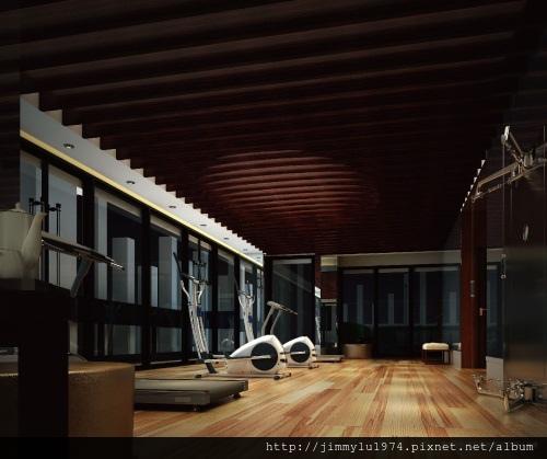 [竹北科一] 總太地產「總太雍河」公設透視參考圖(大樓) 2013-10-28 011 健身房