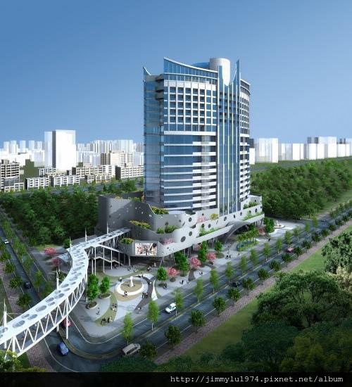 [竹北高鐵] 新竹高鐵特區開發案3D日景示意圖 2013-10-28.jpg