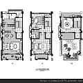 [楊梅埔心] 美居建設「美居森自在」(電梯透天) 2013-11-04 018 A1戶, 2-4F平面參考圖