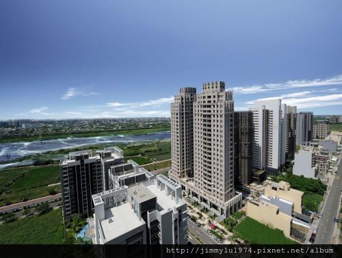 [竹北水岸] 聚合發建設「香禔」(大樓)完工實景 2013-12-24 001