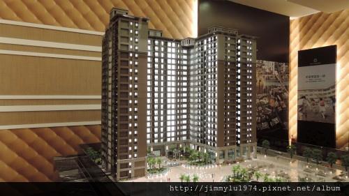 [竹北法院] 合陽建設「成功大道」(大樓)外觀參考模型 2014-01-07 003