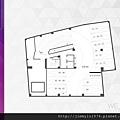 [新竹北門] 中郡開發「寓見愛」(大樓) 2014-01-17 003 B2F平面參考圖