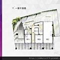 [新竹北門] 中郡開發「寓見愛」(大樓) 2014-01-17 005 1F平面參考圖