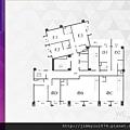 [新竹北門] 中郡開發「寓見愛」(大樓) 2014-01-17 006 2F平面參考圖