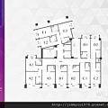 [新竹北門] 中郡開發「寓見愛」(大樓) 2014-01-17 009 11F平面參考圖