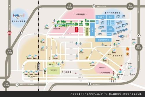 [竹南大埔] 又一山建設「一見森晴」(透天) 2014-02-11 003 生活機能參考圖.jpg