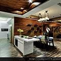 [新竹竹光] 野村建設「野村常在」(大樓) 2014-02-20 010 樣品屋餐廳參考裝潢