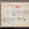 [新竹竹光] 野村建設「野村常在」(大樓) 2014-02-20 014 交通動線參考圖