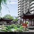 [新竹竹光] 野村建設「野村常在」(大樓)中庭透視參考圖 2014-05-14
