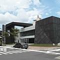 [竹北縣三] 鴻柏建設「鴻向」(大樓) 2014-05-14 003 接待中心外觀實景.JPG