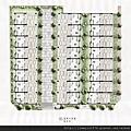 [芎林綠獅] 又一山建設「院自在」(透天) 2014-06-07  003 全區平面參考圖