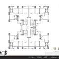 [竹北自強] 美地建設「心里畫」(大樓) 2014-06-17 004 雙數層平面參考圖.jpg