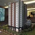 [頭份中央] 正群建設「中央都滙」(中央都匯,大樓)外觀參考模型 2014-07-02 001