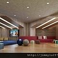 [竹北縣三] 鴻柏建設「鴻向」(大樓) 2014-07-21 005 兒童遊戲室透視參考圖
