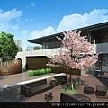 [竹北縣三] 鴻柏建設「鴻向」(大樓) 2014-07-21 007 景觀透視參考圖