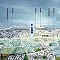 [頭份中央] 群新建設「中央都滙」(大樓) 2014-07-31 空拍合成參考圖高清版