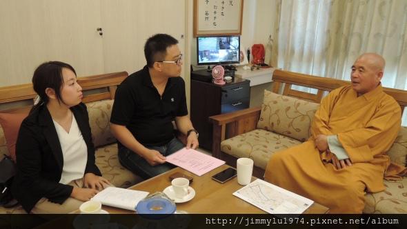 [人物專訪] 釋圓禪師父談佛法 2014-08-14 001