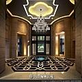 [竹北縣三] 山璞建設「山璞翰林富苑」(大樓) 2014-08-29 002 門廳透視參考圖