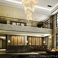 [竹北市區] 冠軍開發建設「冠軍城心」(大樓) 2014-09-16 001 大廳透視參考圖