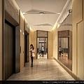 [竹北台元] 竹風建設「竹風美麗城:築美」(大樓)2014-10-08 007 梯廳透視參考圖