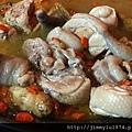[新竹東大] 大口吃肉(碳烤串燒)2014-10-21 011 燒酒嫩雞.jpg