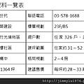 [新竹光埔] 興築建設「興世代」(大樓)2014-12-02 009 基本資料一覽表