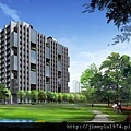 [竹北高鐵] 良茂建設「LifePark」(大樓)2014-12-26 001 外觀透視參考圖