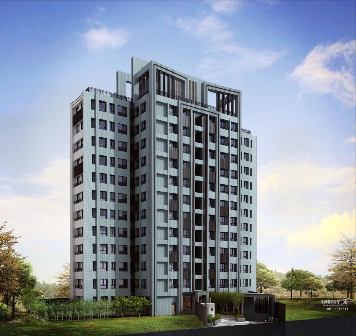 [竹東自強] 喬立建設-三號公寓(大樓)2015-03-10 001