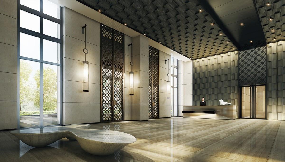 [竹北縣三] 興富發建設-巨人(大樓)2015-03-10 006 大廳3D示意圖(一切以施工完成後為主)
