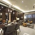 [新竹光埔] 興築建設-興世代(大樓)2015-03-11 017 3房客廳