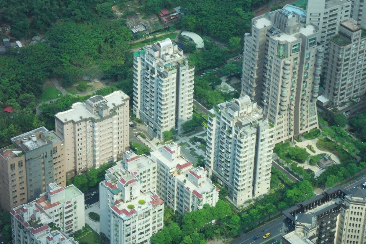 [景觀地景] 信義計畫區建築群 2011-06-17